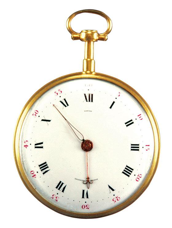 Washington's Lepine pocketwatch