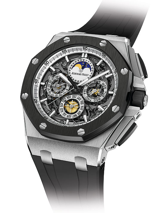 Audemars Piguet Royal Oak Offshore Grande Complication - angle