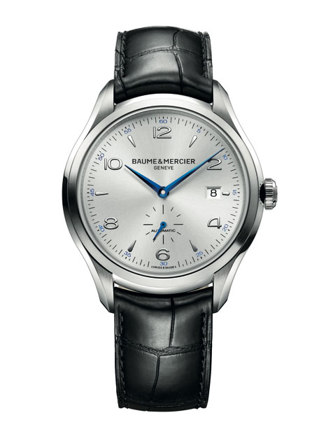 Baume & Mercier Clifton in steel case/silver dial