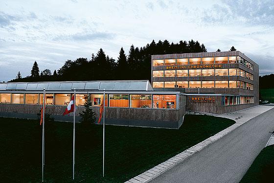 Breitling Chronometrie building
