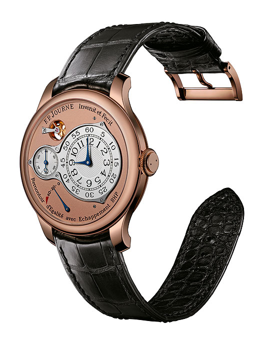 F.P. Journe Chronometre Optimum in rose gold, front