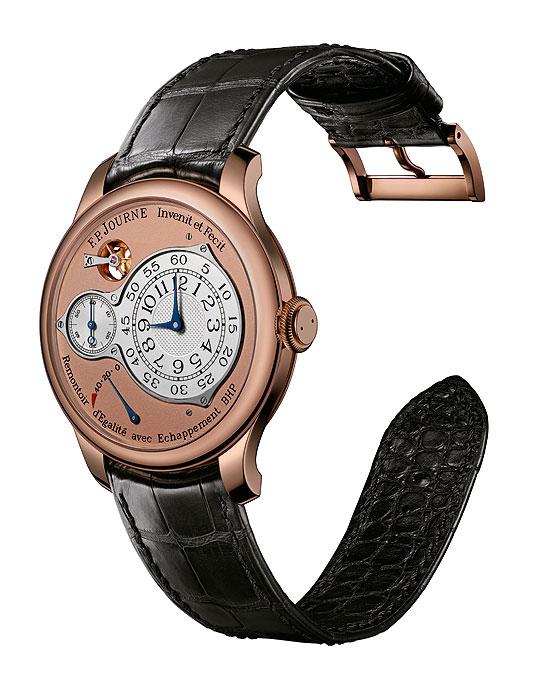 F.P. Journe Chronometre Optimum in rose gold, front