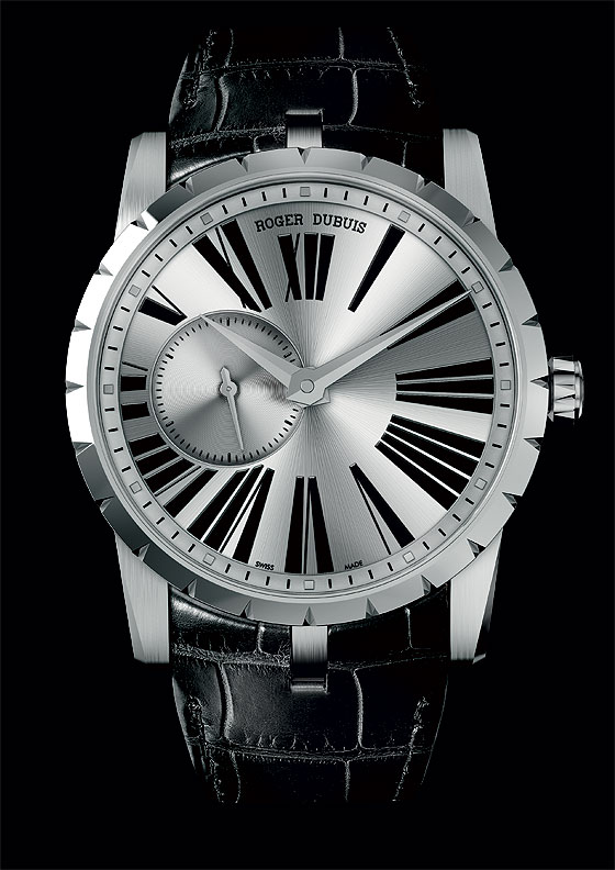 Roger Dubuis Excalibur Automatic steel case