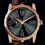Roger Dubuis Excalibur Automatic rose gold gray dial