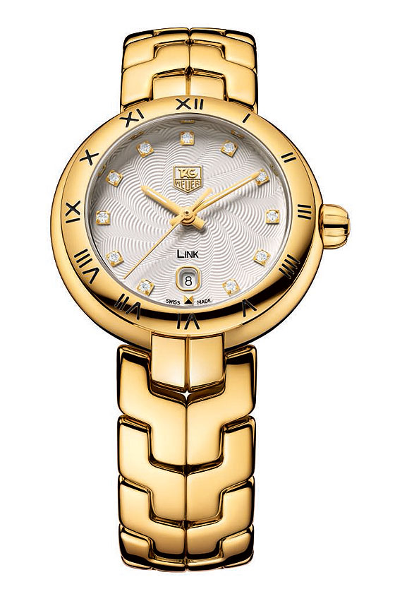 TAG Heuer Link Lady Cameron Diaz Yellow Gold