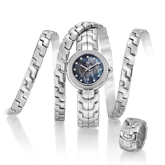 TAG Heuer Link Lady Trilogy in Steel
