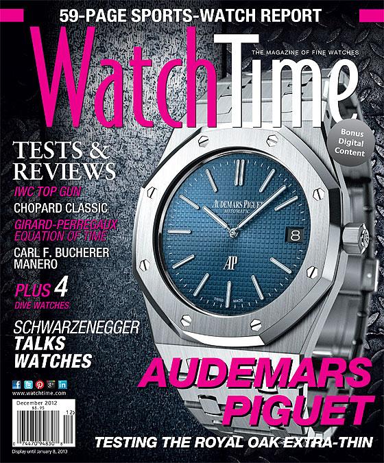 WatchTime November-December 2012 cover