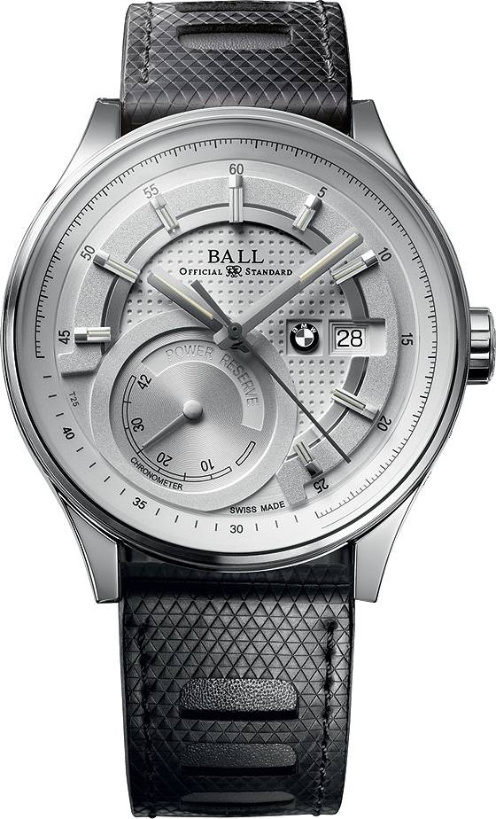 Ball for BMW Power Reserve silver dial