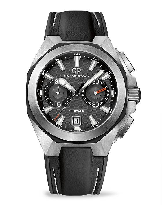Girard-Perregaux Chrono Hawk black dial