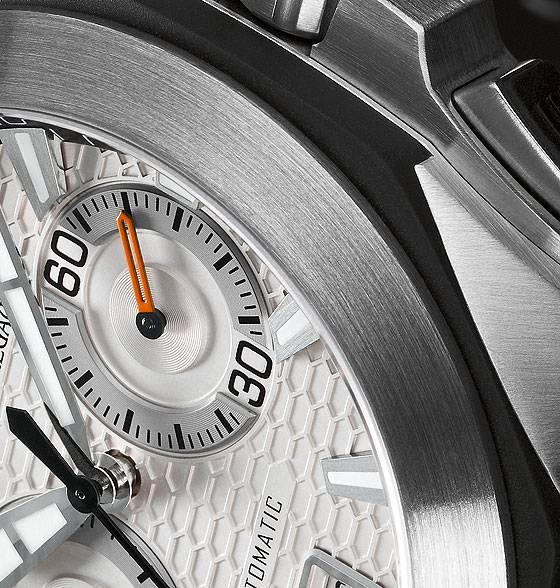 Girard-Perregaux Chrono Hawk dial detail