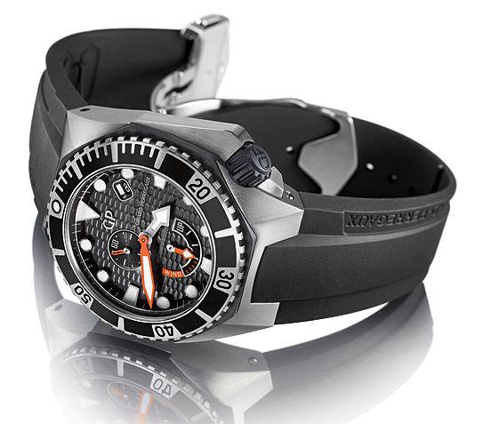 Girard-Perregaux Sea Hawk reclining