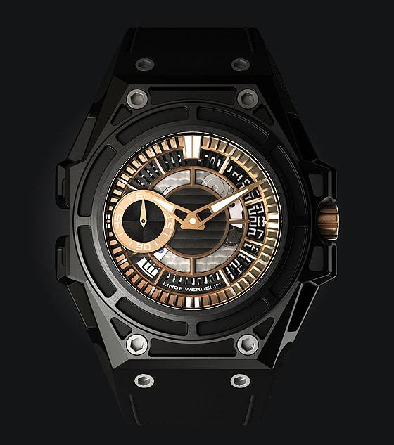Linde Werdelin SpidoLite II Black Gold - front