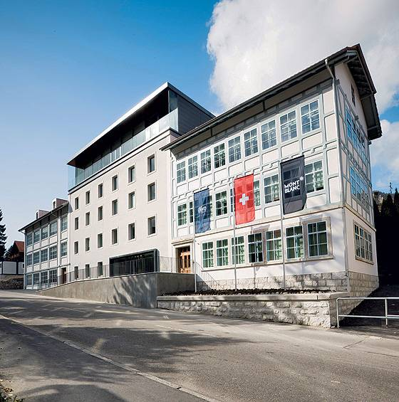 Montblanc Minerva HQ in Villeret, Switzerland