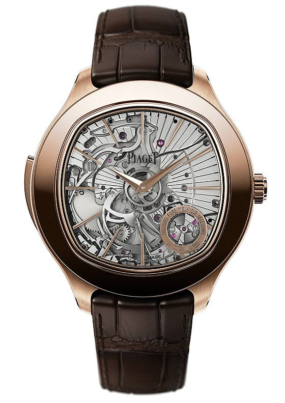 Piaget Emperador Coussin Ultra-Thin Minute Repeater front