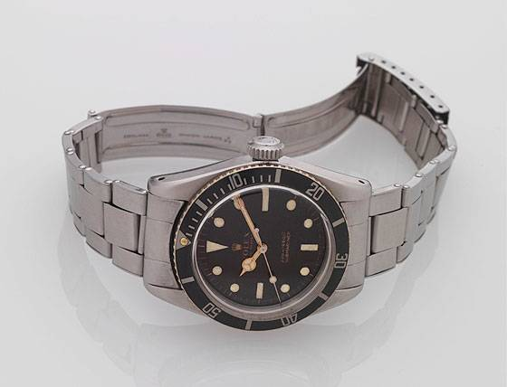 Rolex Ref. 5510 James Bond Big Crown in steel
