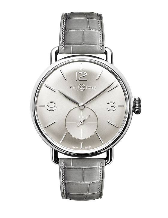 Bell & Ross Vintage WW1 Argentium, Silver Dial