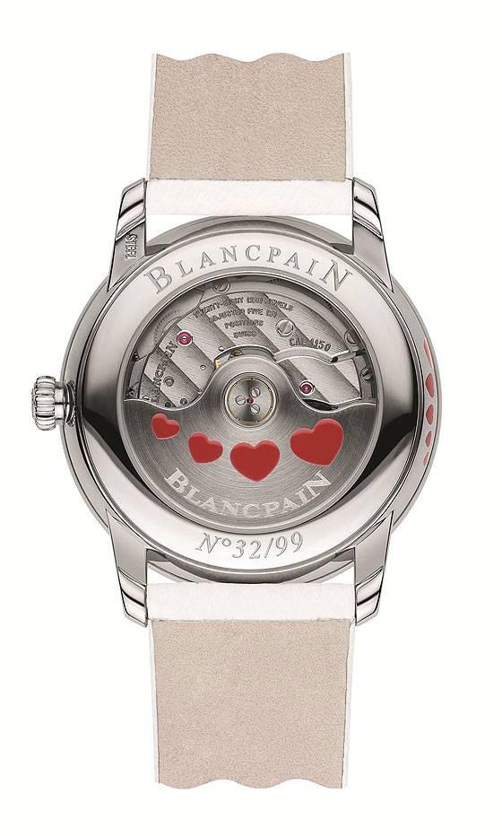 Blancpain Saint Valentin 2013 back