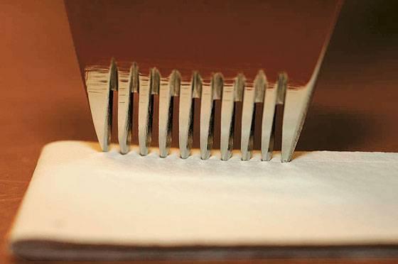 Hermes strap perforation