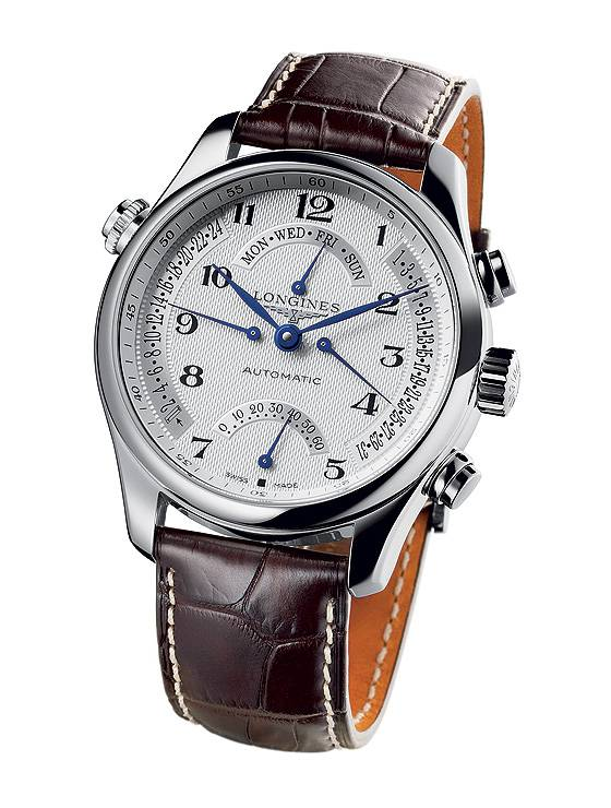 Longines Master Collection Retrograde - front