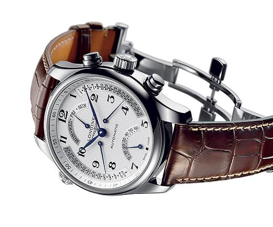 Longines Master Retrograde reclining
