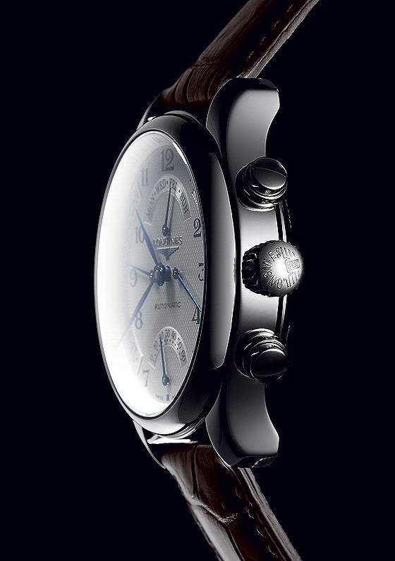 Longines Master Collection Retrograde -  side