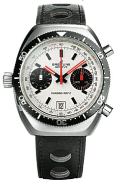 One of the first automatic chronographs: the Chrono-Matic from 1969