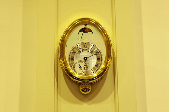 Breguet Reine de Naples clock at Carnegie Hall