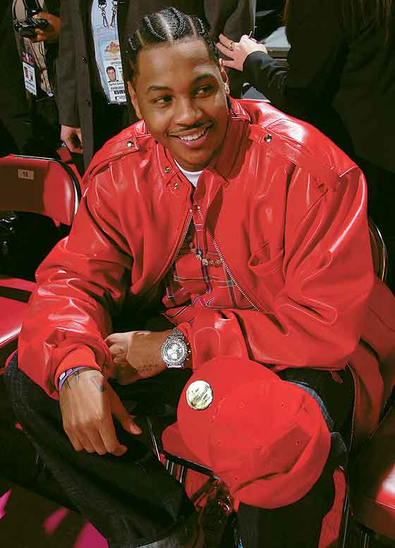 Carmelo Anthony at NBA All-Star Game 2007