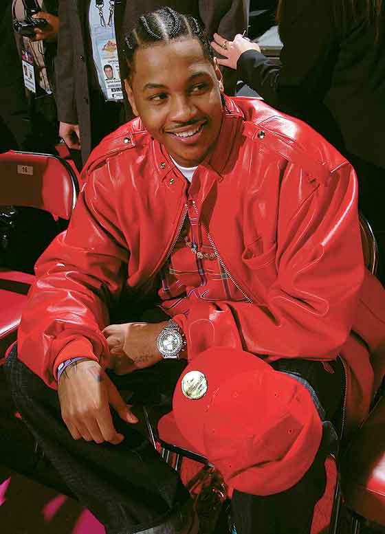 Carmelo Anthony 2007