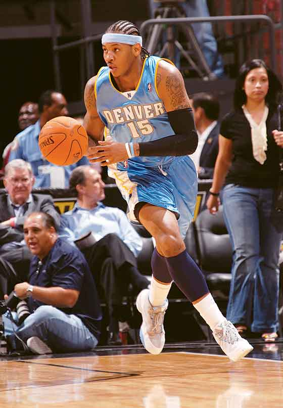 Carmelo Anthony with Denver Nuggets