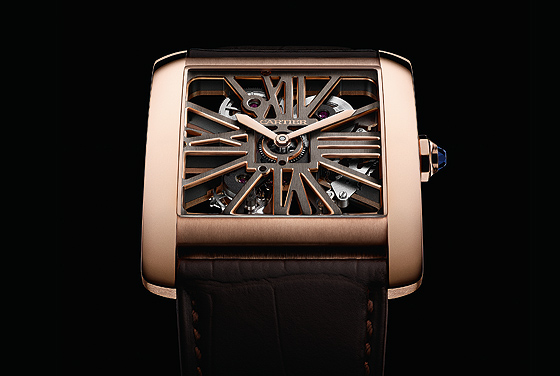 Cartier Tank Two-Tone Skeleton