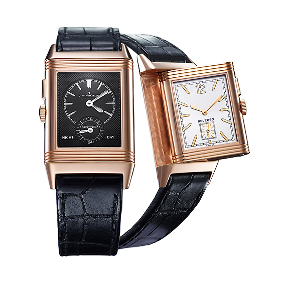 silver reverso watches jaeger grande watch classique mens brown lecoultre leather s men dial
