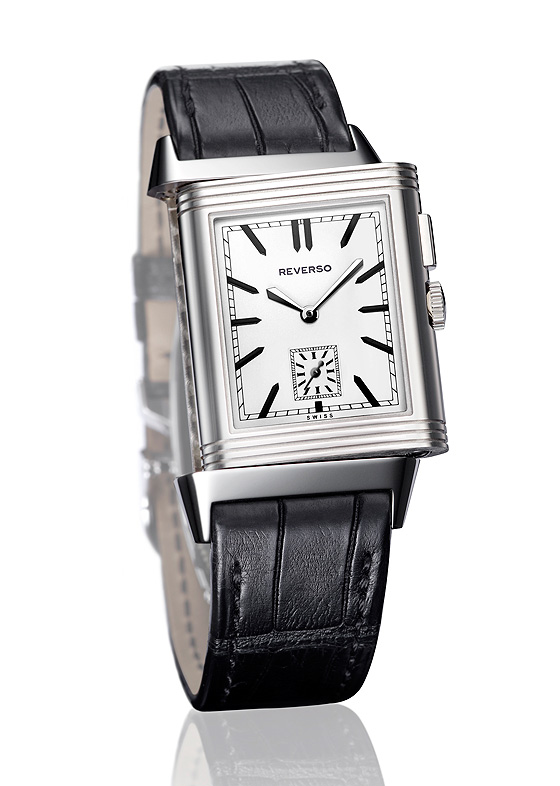 Jaeger-LeCoultre Grande_Reverso Ultra Thin Duoface Steel