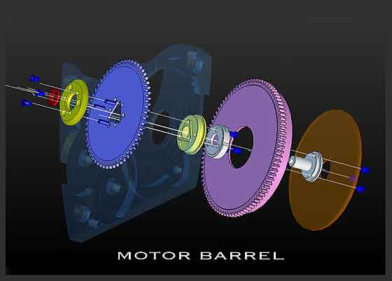 RGM Motor Barrel graphic