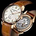 www.watchtime.com | watches wristwatch industry news  | Baselworld Preview: Cuervo y Sobrinos Historiador Flameante | CYS HistoridaorFlameante frontback 150