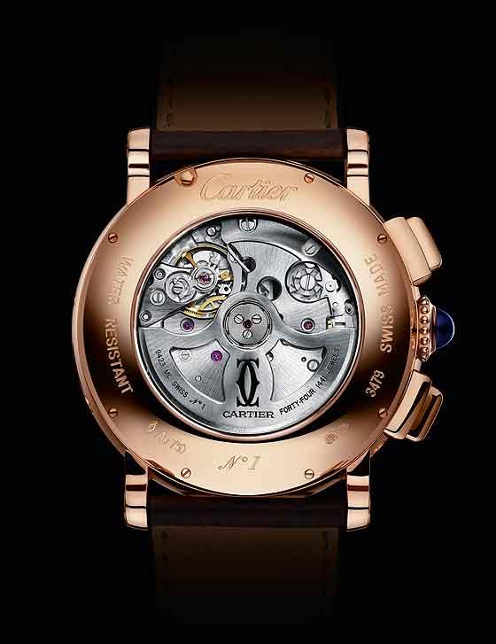 Cartier Rotonde de Cartier QP Chrono - back