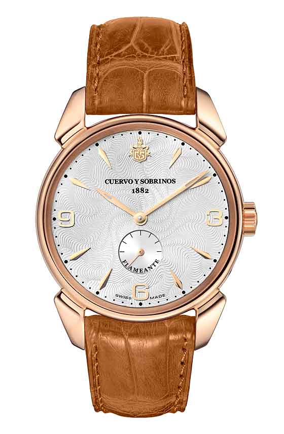 www.watchtime.com | watches wristwatch industry news  | Baselworld Preview: Cuervo y Sobrinos Historiador Flameante | CuervoySobrinos Historiador Flameante front 560
