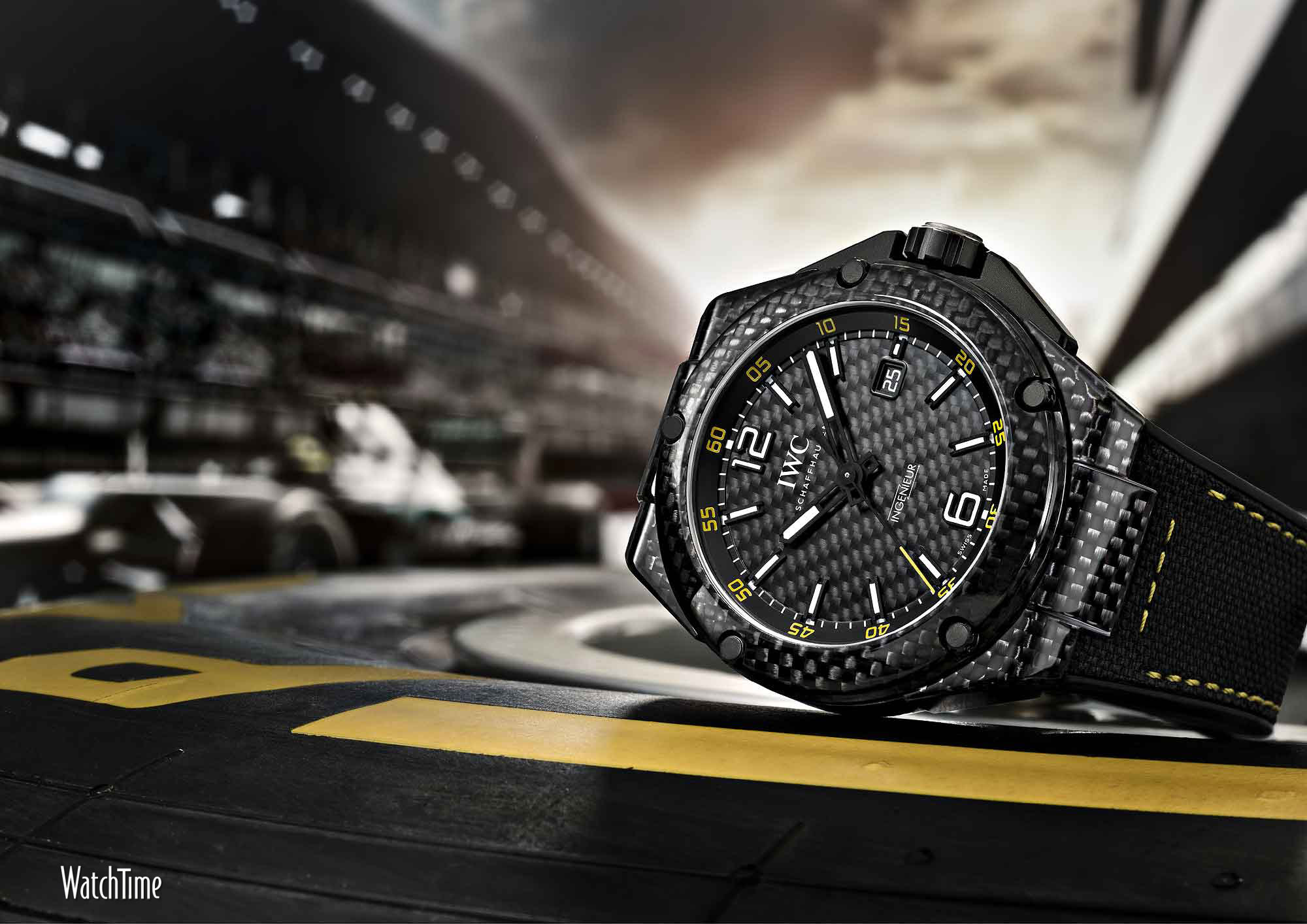 Luxury watches wallpaper - Iwc Ingenieur Automatic Carbon Performance