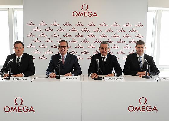Omega Press Conference