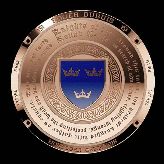 www.watchtime.com | watches wristwatch industry news  | Knights of Gold: Roger Dubuis Excalibur Roundtable | RD Excalibur RoundTable back 560