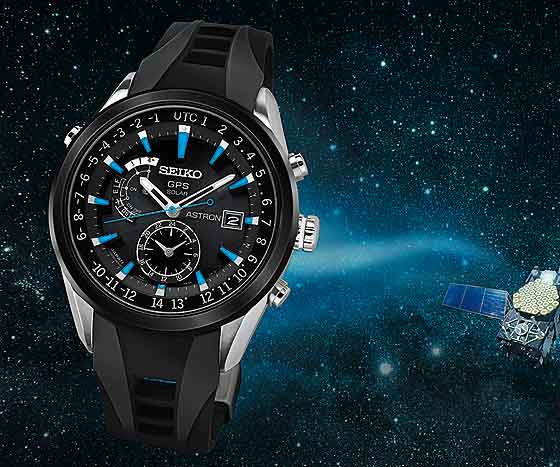 Seiko Astron Outer Space bkgd