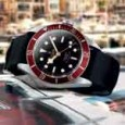 Tudor Heritage Black Bay watch