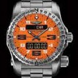 Breitling Emergency II Intrepid Orange dial
