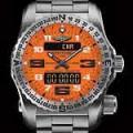 Breitling Emergency II Intrepid Orange dial