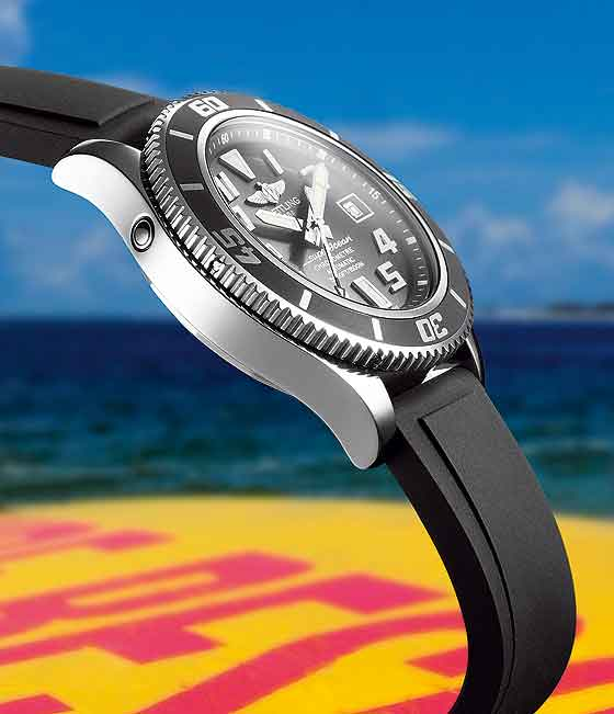 Breitling Superocean - profile