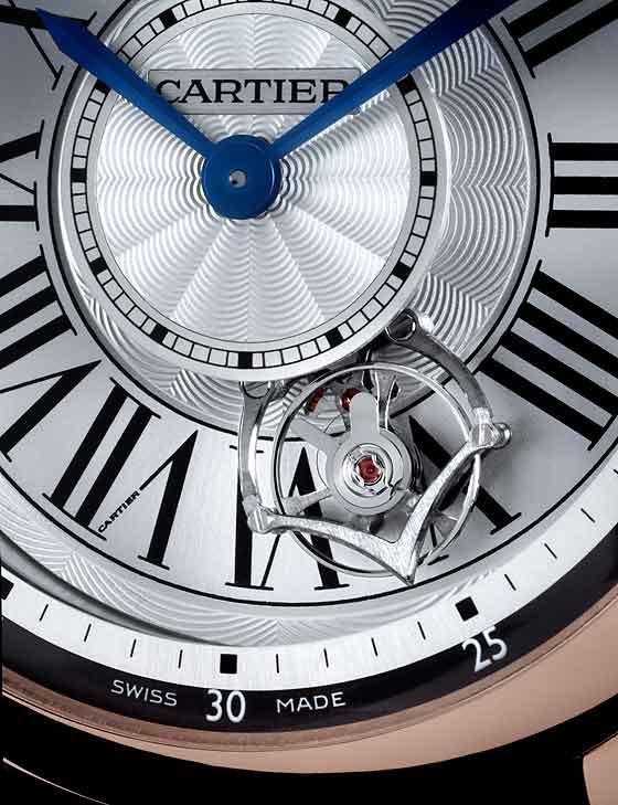 Cartier Astrotourbillon - dial CU