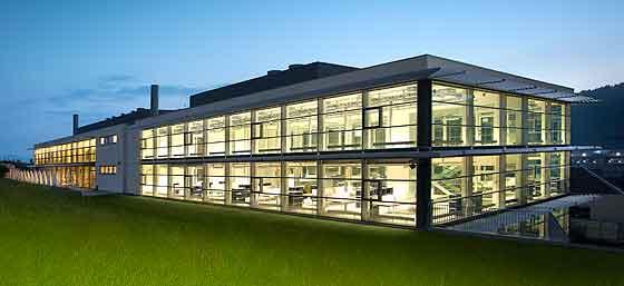 Cartier building in La Chaux-de-Fonds