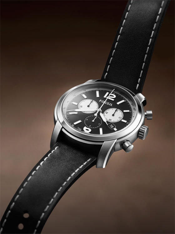FSW-7001 from Fossil's Swiss Made collection. Follow us on Twitter to find out how to win this watch!
