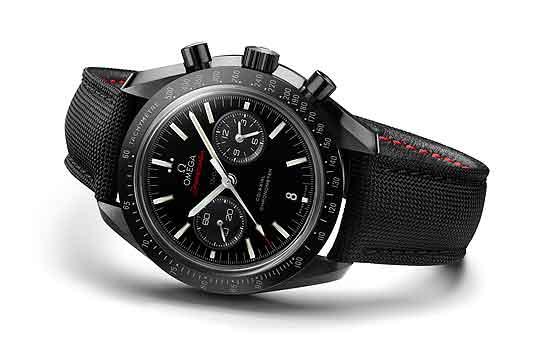 Omega Speedmaster Moonwatch in black ceramic