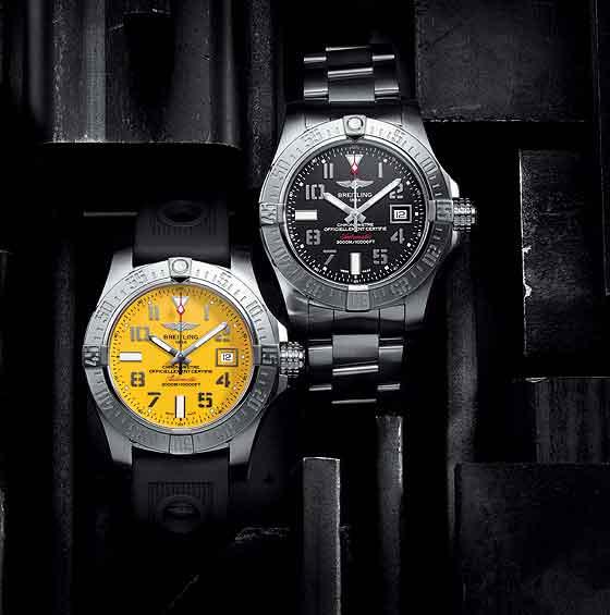Breitling Avenger II Seawolf watches